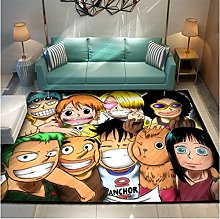 Cartoon Anime One Piece Anti-Slip Floor Mat