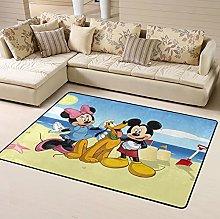 Cartoon Babies Mickey Mouse Area Rug Floor Rugs