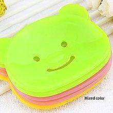 Cartoon Bear Design Home Bathroom Soap Dish Box