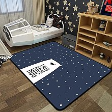 Cartoon Bear Large Carpets Crystal Fleece Anti