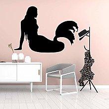 Cartoon Beautiful Mermaid Vinyl Wallpaper roll