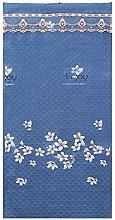 Cartoon Blue Flower Pattern Thermal Front Door