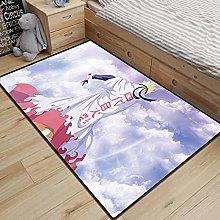 Cartoon Carpet Living Room Rugs Anime Naruto Area