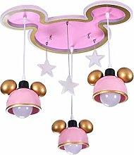 Cartoon Chandelier Children Bedroom Ceiling Light