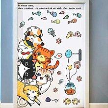 Cartoon Children's Room Bedroom Wall