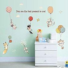 Cartoon Children Room Cute Balloon Mouse