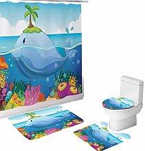 Cartoon Creative Colorful Printing Toilet Pad