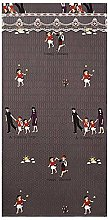 Cartoon Family Pattern Thick Curtains