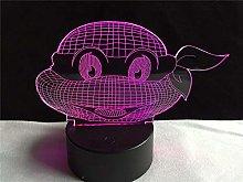 Cartoon Figure Teenage Mutant Ninja Turtle USB LED