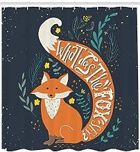 Cartoon fox funny animal High-definition printed