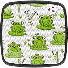 Cartoon Frogs Kitchen Cabinet Knobs Drawer Knobs