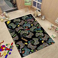 Cartoon Gamepad Series Carpet Suitable For Living