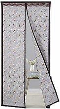 Cartoon Gray Kitten Pattern Heavy Door Curtains