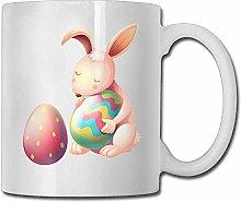 Cartoon Rabbit Egg Coffee Mugs 11 Oz Ceramic Tea