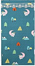 Cartoon Small Tree Pattern Thermal Curtain Liners