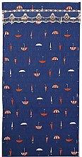 Cartoon Umbrella Pattern Door Draught Curtain
