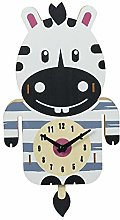 Cartoon Wooden Wall Clock, Creative And Cute