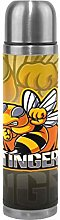 Cartoon Yellow Honey Bee Thermos Sport Water