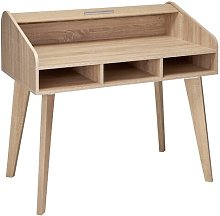Caruso Desk Norden Home Colour: Oak