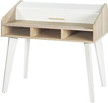 Caruso Desk Norden Home Colour: White