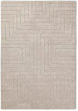 Carved Maze Wool Rug