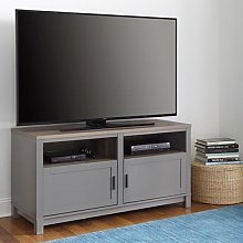 Carver Wooden TV Stand In Grey