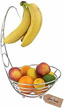 Casa Cuisine™ Chrome Wire Fruit Basket with