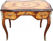 Casa Padrino Baroque luxury desk mahogany burl