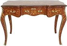 Casa Padrino baroque secretary mahogany inlay/gold