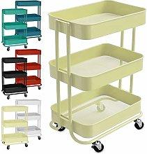 casa pura Multi-Purpose Storage Trolley - Wheeled
