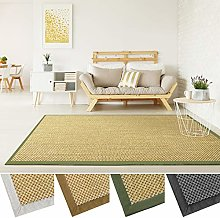 casa pura Natural Sisal Rug | Premium Quality