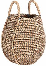 Casa Vivante Faltona Basket, Brown, H48 x Ø45 cm