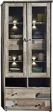 Casablanca Display Cabinet with Lighting Laurel