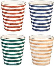 Casablanca Mug - / Porcelain - Set of 4 by &