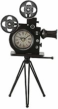 CasaJame Table clock antique camera film camera