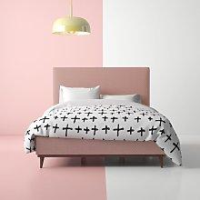 Casares Upholstered Bed Frame Hashtag Home