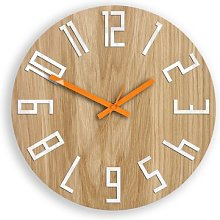 Casden 33cm Analogue Wall Clock Zipcode Design