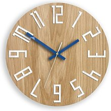Casden 33cm Analogue Wall Clock Zipcode Design