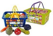 Casdon Twin Grocery Basket &Amp; Shopping