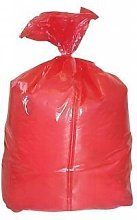 Case of 200 Red Laundry Bags with Soluble
