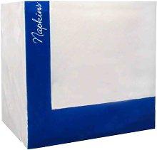 Case of 5000 (10 x 500) White Paper Napkins 33cm x