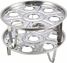 Casecover 2pcs Kitchen Round Stainless Steel