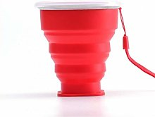 Casecover Collapsible Camping Cup with Lid, Bpa