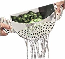 Casecover Pot Strainer Stainless Steel Colander