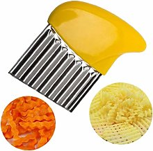 Casecover Stainless Steel Potato Crinkle Cutter