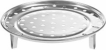 Casecover Steam Tray Round Steamer Rack with