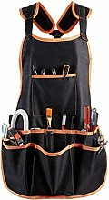 Casecover Work Apron with 16 Tool Pockets Heavy