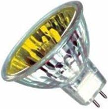 Casell - GU5.3 50W Halogen Spot - 12V - Yellow