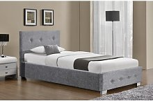 Casillas Fabric Upholstered Ottoman Bed Hashtag