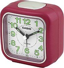 CASIO 10102 TQ-142-4D Analogue Alarm Clock Pink
